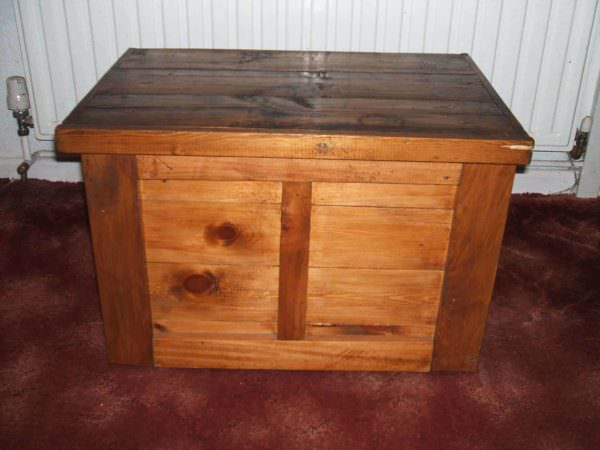 Pallet Sewing Box Pallet Boxes & Chests
