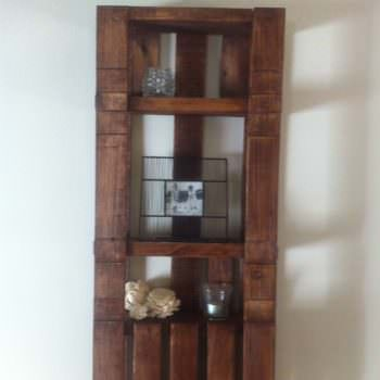 Simple Pallet Shelf