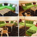 Sofa & Pallet Table For A Pallets Lounge