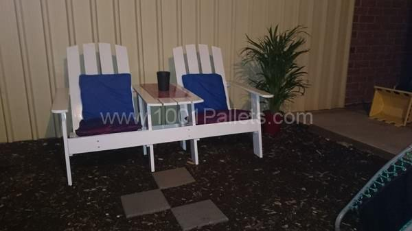 Jack & Jill Chair Pallet Benches, Pallet Chairs & Stools