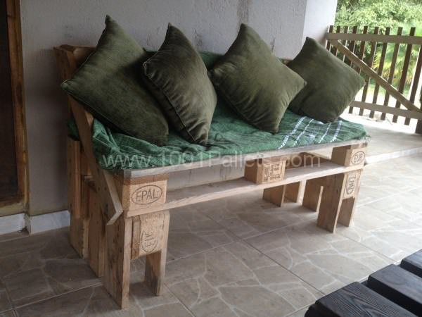 IMG 05571 600x450 Fabricação propria in pallet living room pallet furniture  with Sofa Pallets Coffee table