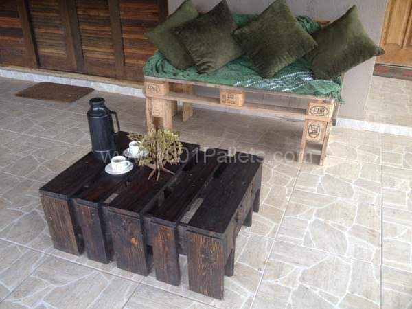 IMG 05611 600x450 Fabricação propria in pallet living room pallet furniture  with Sofa Pallets Coffee table