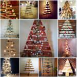 Pallet Christmas Trees mosaic