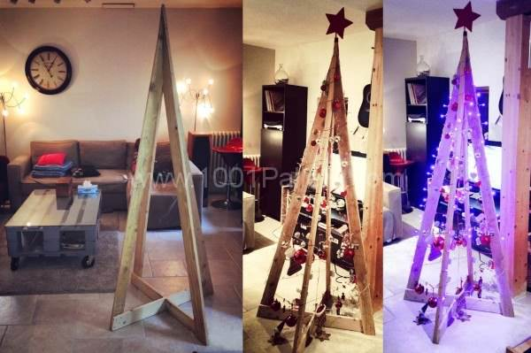 Sapin De Noel / Pallet Christmas Tree Pallet Home Accessories