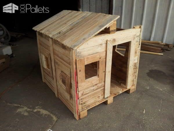 Kids Dream Hut Fun Pallet Crafts for Kids Pallet Sheds, Cabins, Huts & Playhouses