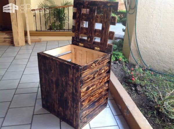Laundry Storage Pallet Boxes & Chests