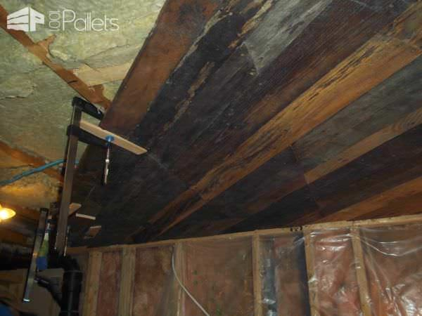 My Pallet Projects Pallet Ceilings & Roofs