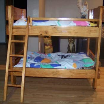 Pallet Bunkbeds for Animals