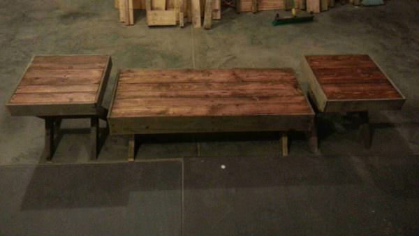 Pallet Coffee & End Tables Pallet Coffee Tables