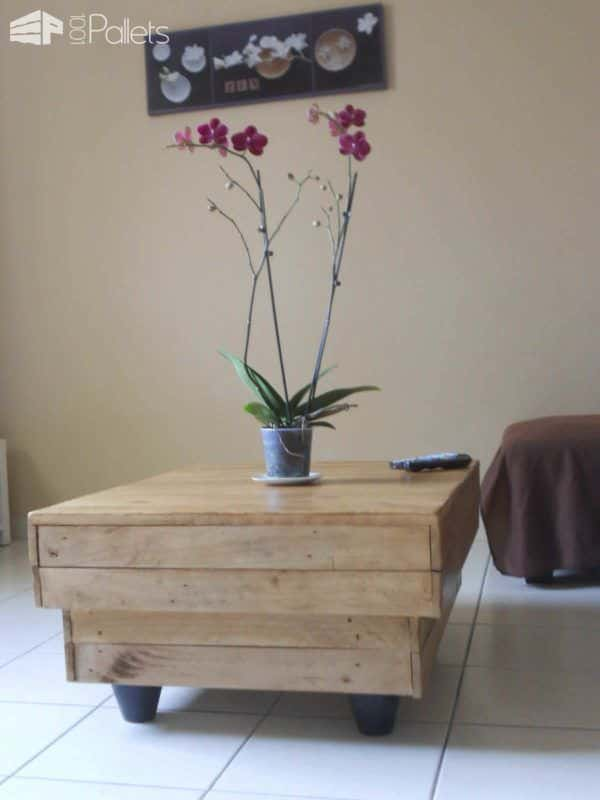 Pallet Coffee Table & TV Stand Pallet Coffee Tables Pallet TV Stand & Rack