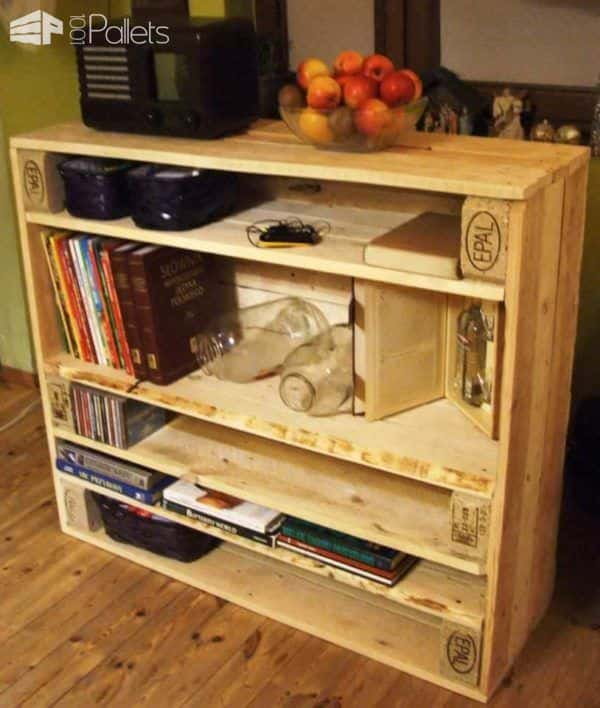 Pallet Console Pallet Cabinets & Pallet Wardrobes