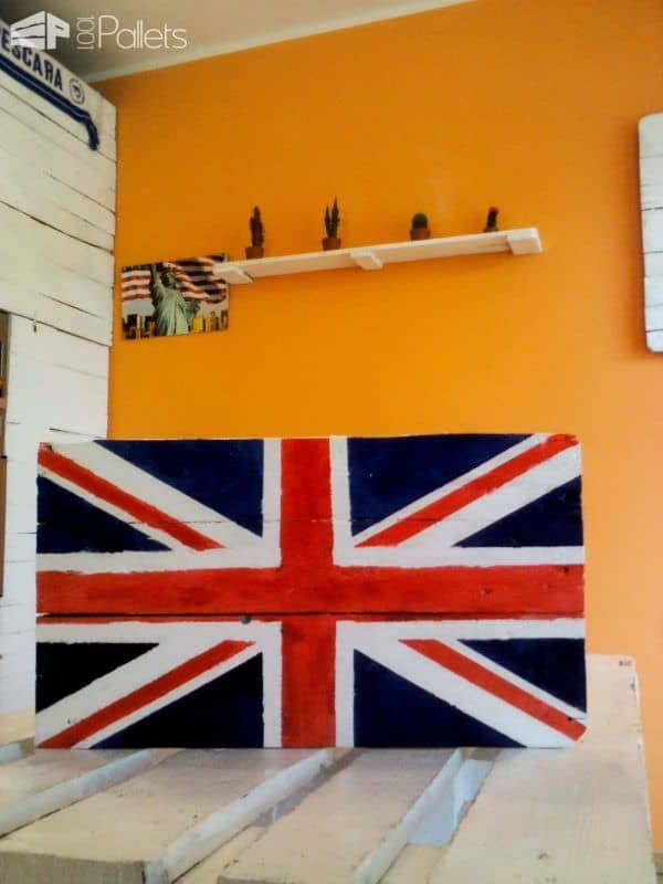 Pallet Flags Pallet Wall Decor & Pallet Painting
