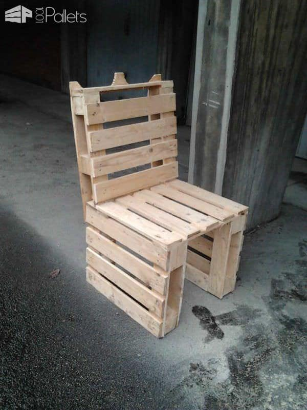 Pallet Furniture Pallet Benches, Pallet Chairs & Stools