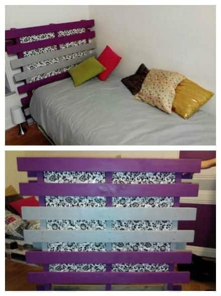 Latest recycled reclaimed pallet projects ideas 1001 - Lit en palette ...