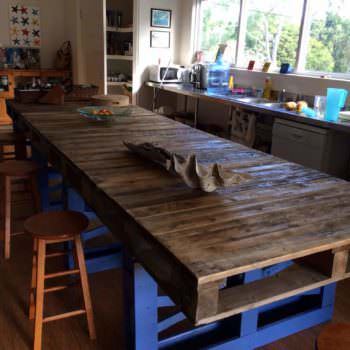Pallet Modern Kitchen Table