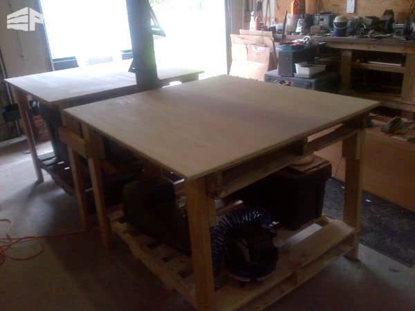 Shop Tables From Recycled Pallets Pallet Desks & Pallet Tables