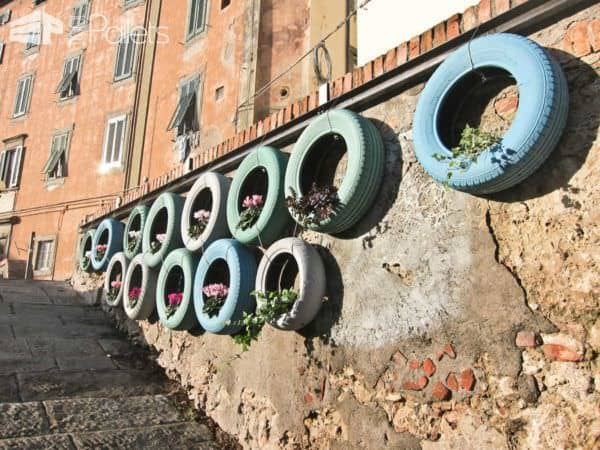 Venice Repurposed Vertical Garden Pallet Planters & Compost Bins