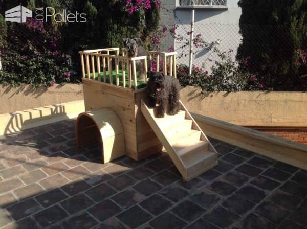 Beautiful Pallet Doghouse Animal Pallet Houses & Pallet Supplies