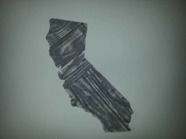 California Shape Wall Decor Pallet Wall Decor & Pallet Painting