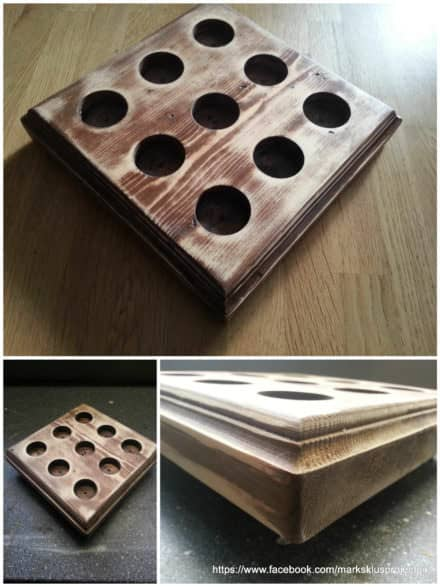 Candles Tray