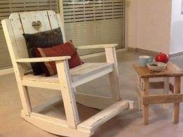 From A 2 B: Pallet Rocking Chair