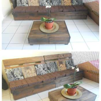 Make an Outdoor Pallet Lounge