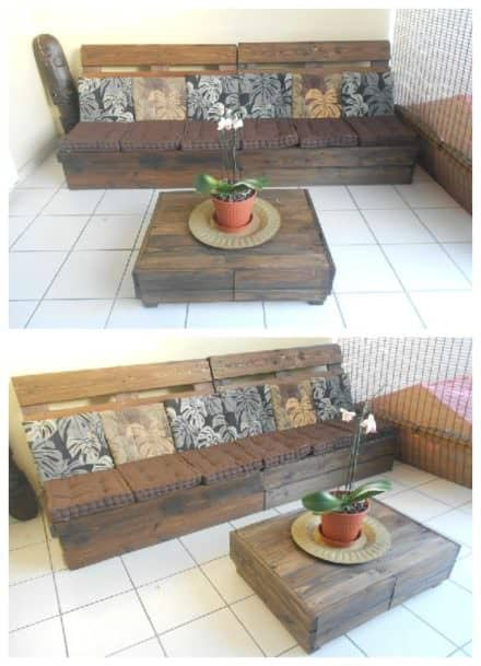 Posts found with pallet lounge page 8 of 14 1001 pallets - Table exterieur palette ...