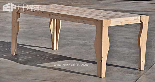 Onda Lignea Pallet Table Pallet Desks & Pallet Tables