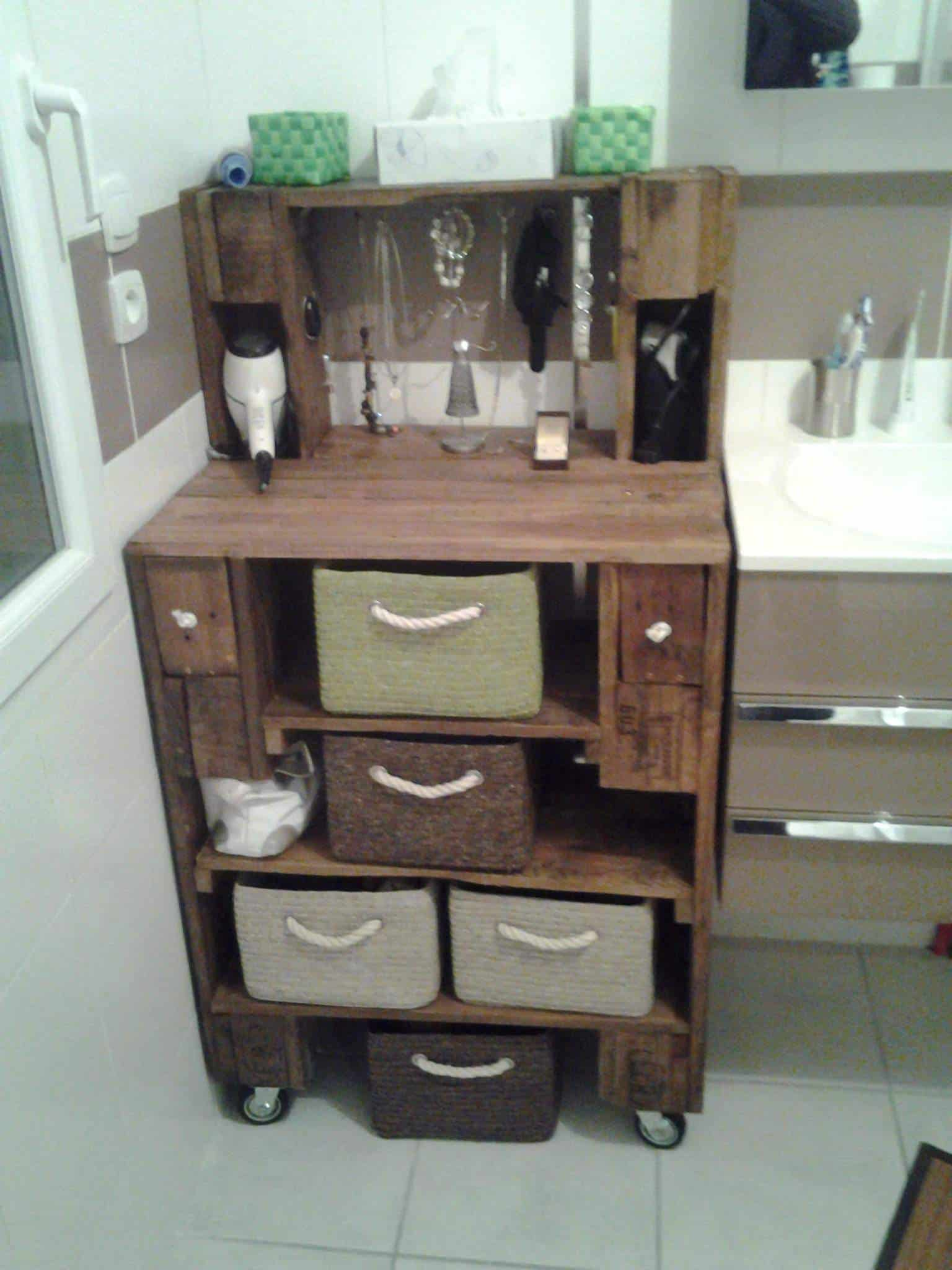 Pallet Bathroom Furniture 1001 Pallets