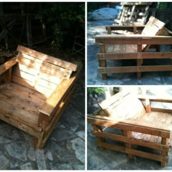 Complete Guide to Make This Pallet Club Chair