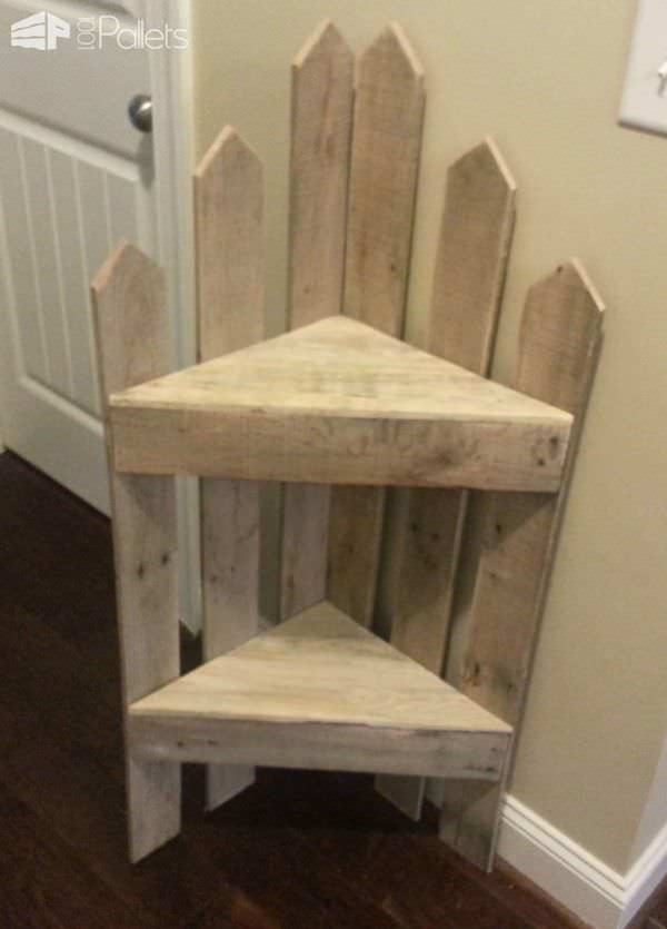 Pallet Corner Shelf 1001 Pallets