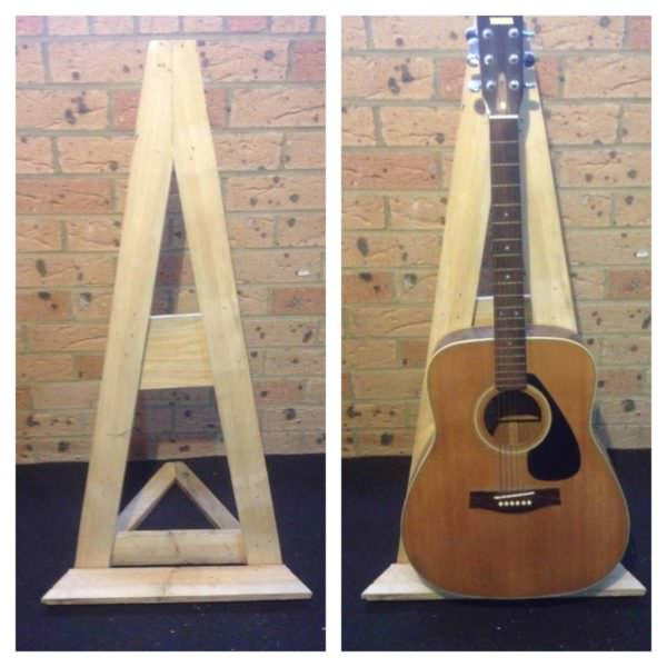 Pallet Guitar Stand Pallet Home Accessories