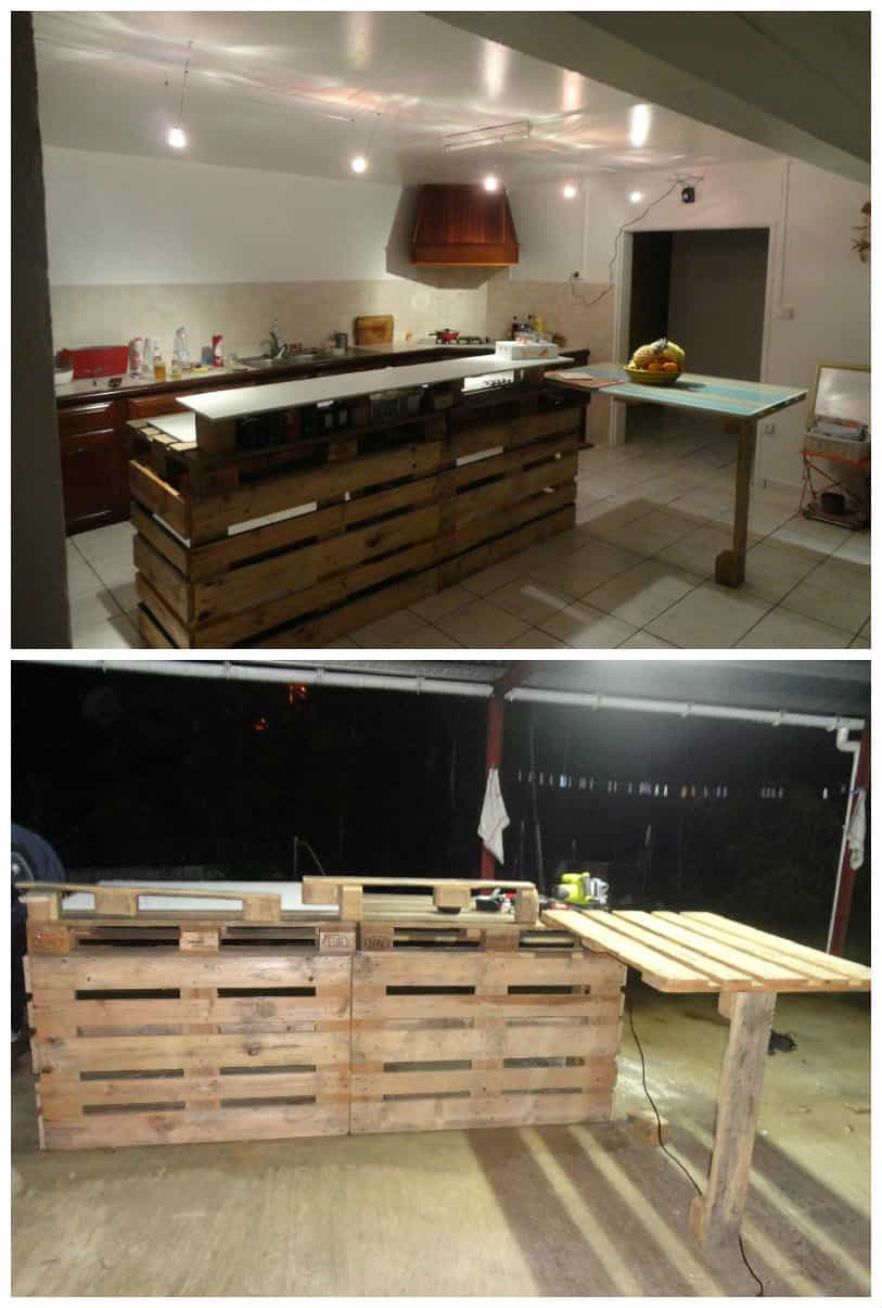 Pallet Kitchen Countertop 1001 Pallets