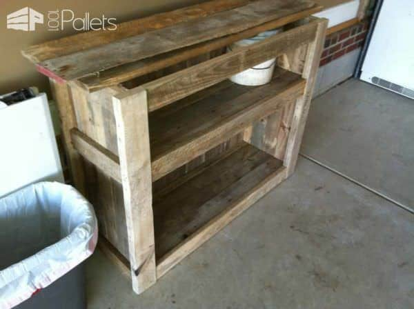 Pallet Rustic Cabinet Pallet Cabinets & Wardrobes