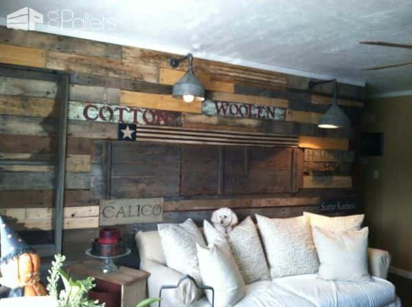 Pallet Wall Decoration Pallet Walls & Pallet Doors