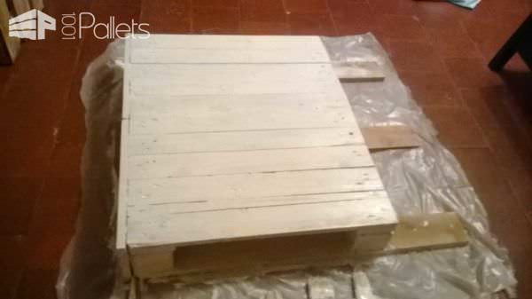 Children Pallet Bed & Headboard Pallet Beds, Pallet Headboards & Frames
