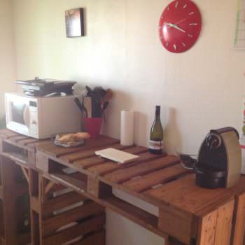 Comptoir De Cuisine / Pallet Kitchen Counter