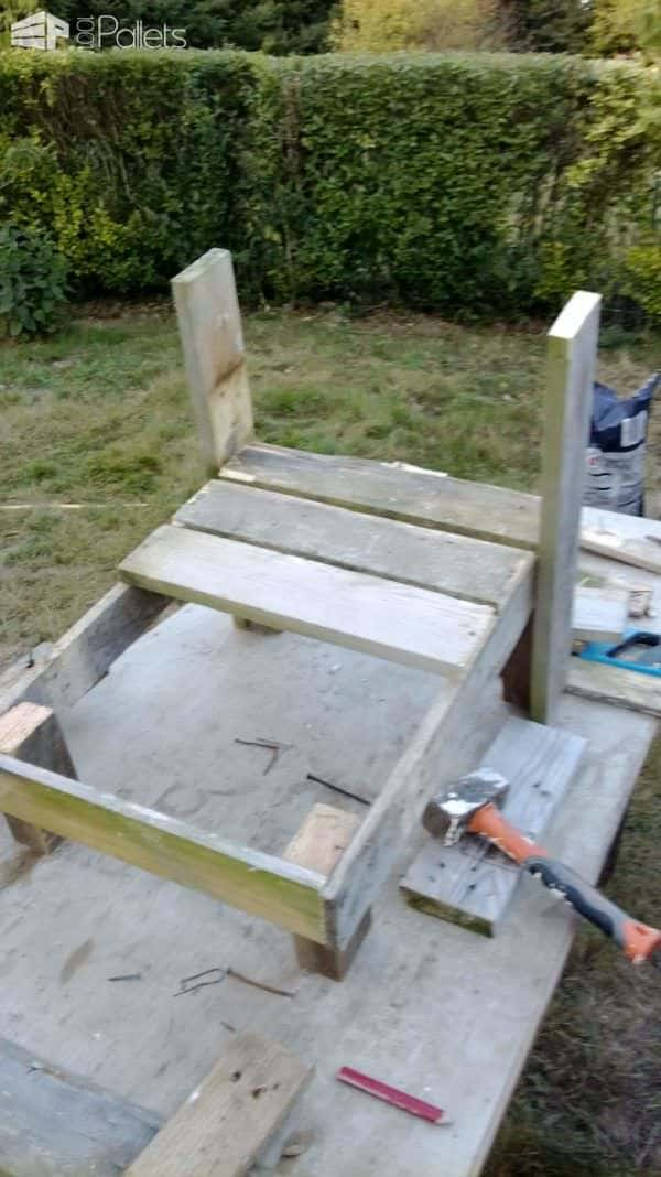 Construction De Chaises Bordelaise / French Pallet Adirondack Chairs Pallet Benches, Pallet Chairs & Stools Pallets in the Garden