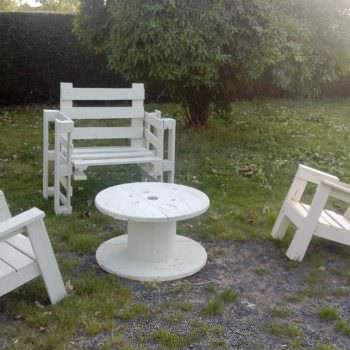 Construction De Chaises Bordelaise / French Pallet Adirondack Chairs