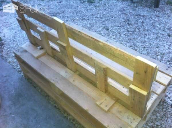 Folding Pallets Garden Sofa Lounges & Garden Sets Pallet Benches, Pallet Chairs & Stools