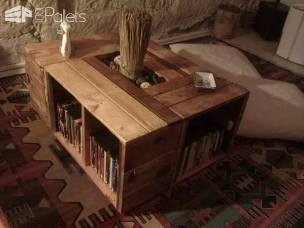 Furniture Made From Reclaimed Pallets Pallet Cabinets & Pallet Wardrobes