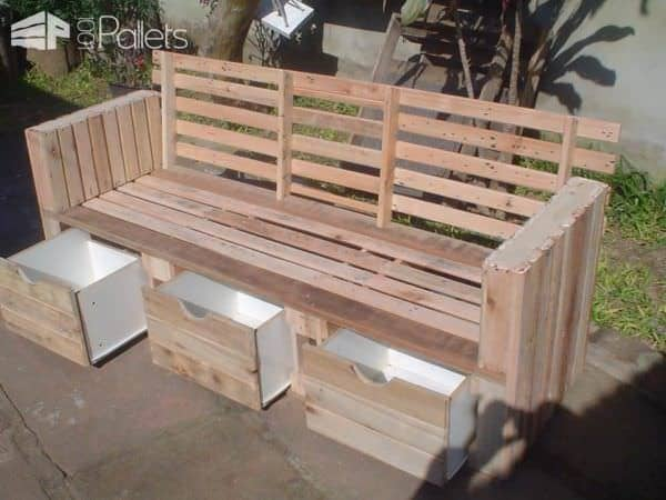 Moveis Feito De Palet / Furniture Made From Reclaimed Pallets Pallet TV Stands & Racks
