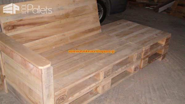 My Sofa Made From Reclaimed Pallet Wood Pallet Sofas & Couches