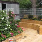 Pallet Combo: Bench + Planter + Terrace