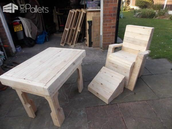 Pallet Garden Table & Chair Pallet Benches, Pallet Chairs & Stools Pallet Desks & Pallet Tables