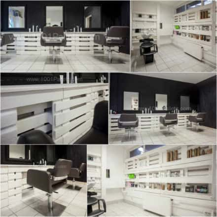 Pallet Hair and Nails Salon in Hungary