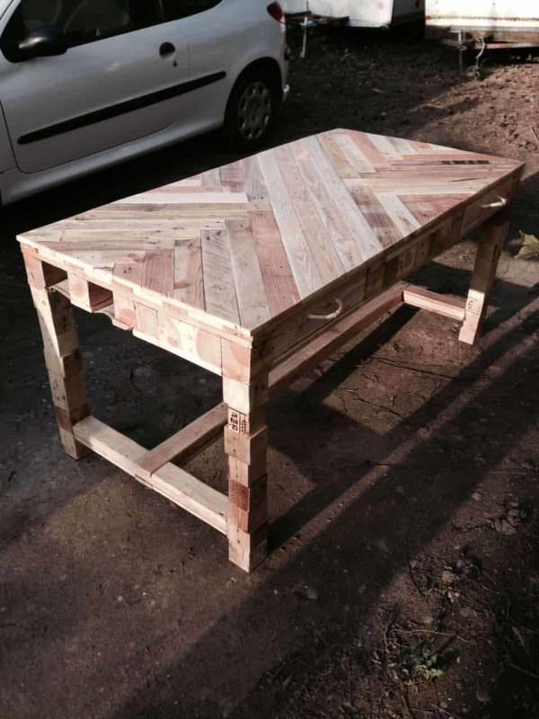 Pallet Table Pallet Desks & Pallet Tables