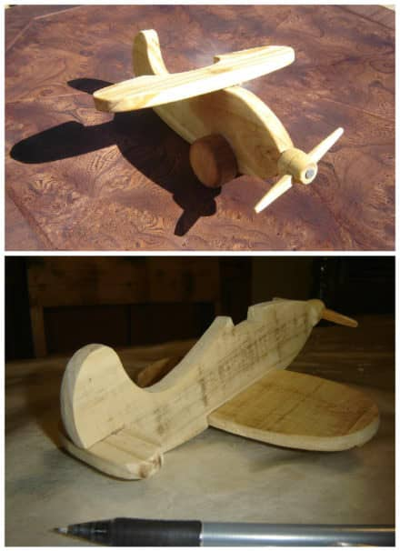 Small Pallet Airplane