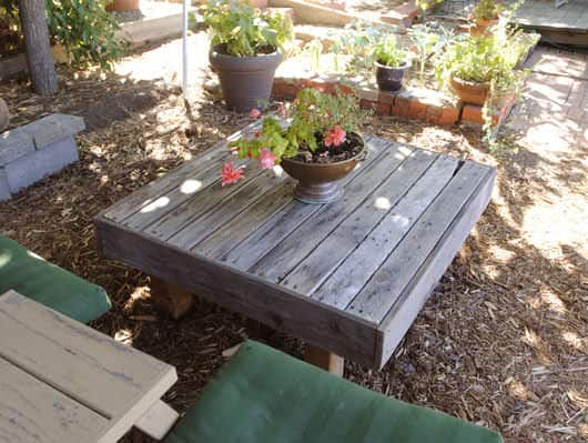 A Refined Pallet Coffee Table Lounges & Garden SetsPallet Coffee Tables