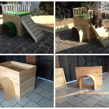 Beautiful Pallet Doghouse